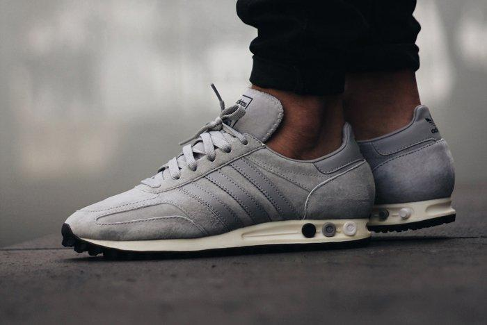 adidas Originals LA Trainer OG: Solid Grey | Retro shoes