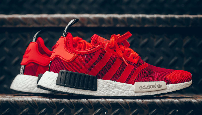 adidas nmd red