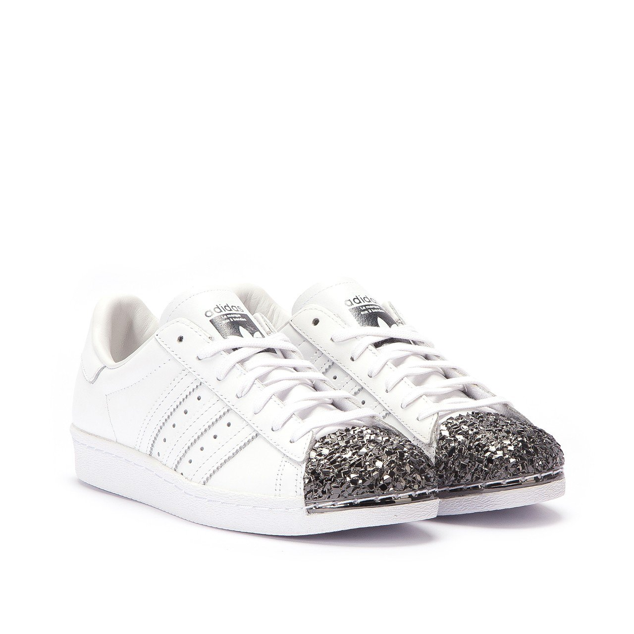 Adidas Originals Superstar 80s 3D Metal Toe SortHvid BB2033